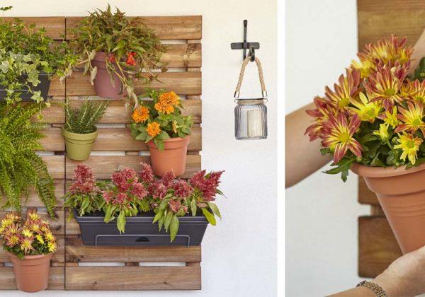 Diy Pots De Fleurs Fabriquez Un Jardinet Vertical Avec Des