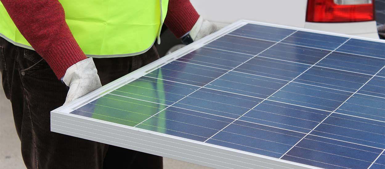 Veolia va ouvrir la 1 re usine de recyclage de panneaux for Recyclage des panneaux solaires