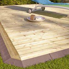 Une terrasse en bois qui s'installe en un clin d'oeil