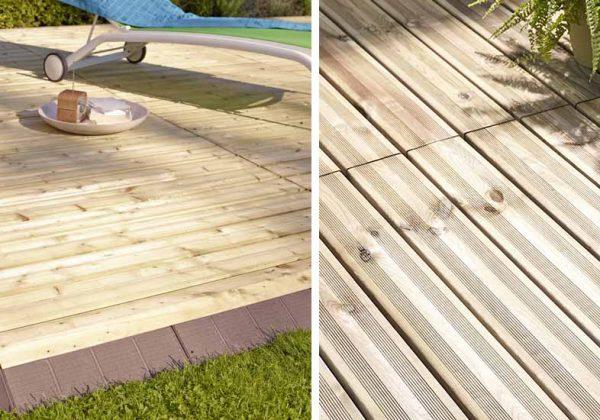 Installer Une Terrasse En Bois Terrasse Facile Et Rapide A
