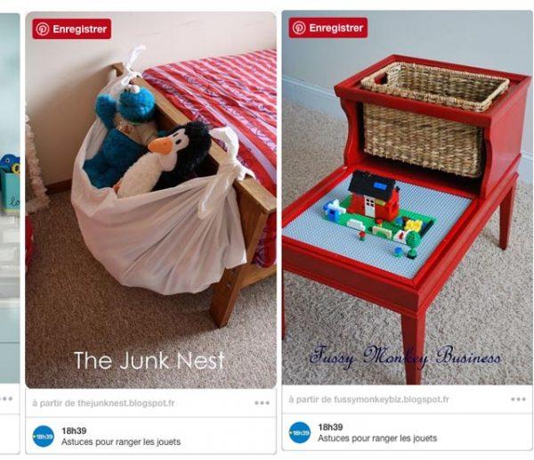 20 super idées pour ranger tous les jouets