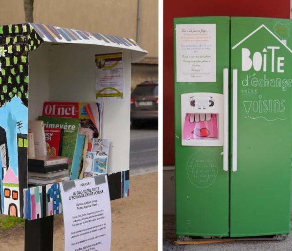Les boîtes à partage vont révolutionner la vie de quartier