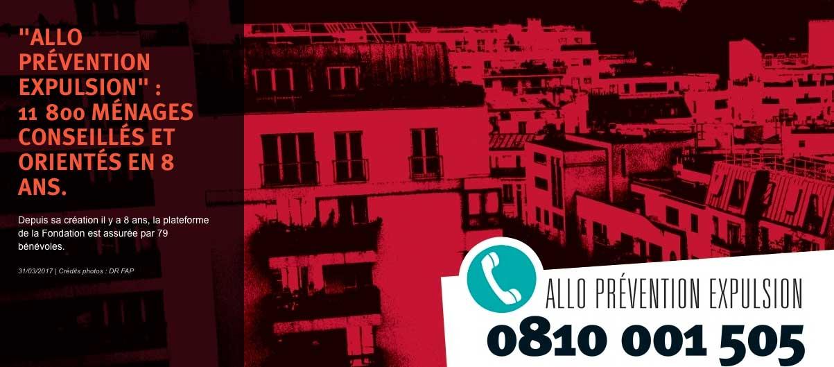Solidarité : Un numéro vert pour aider les personnes menacées d'expulsion locative