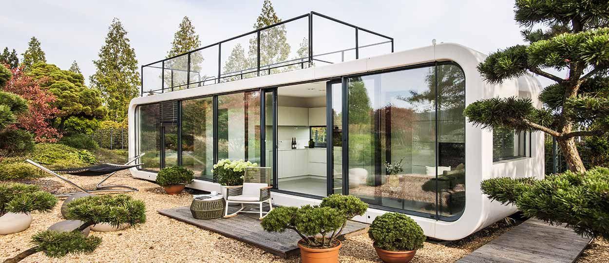 Connu Une maison en préfabriqué écolo transportable partout - Une maison  SF23