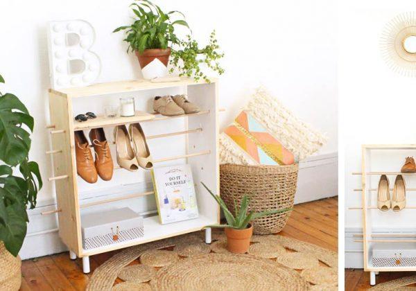 Fabriquez Un Meuble à Chaussures En Bois Rangement