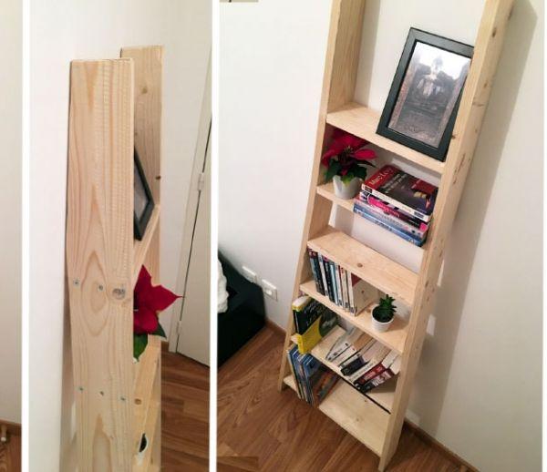 Tuto : Fabriquez une étagère façon échelle de meunier