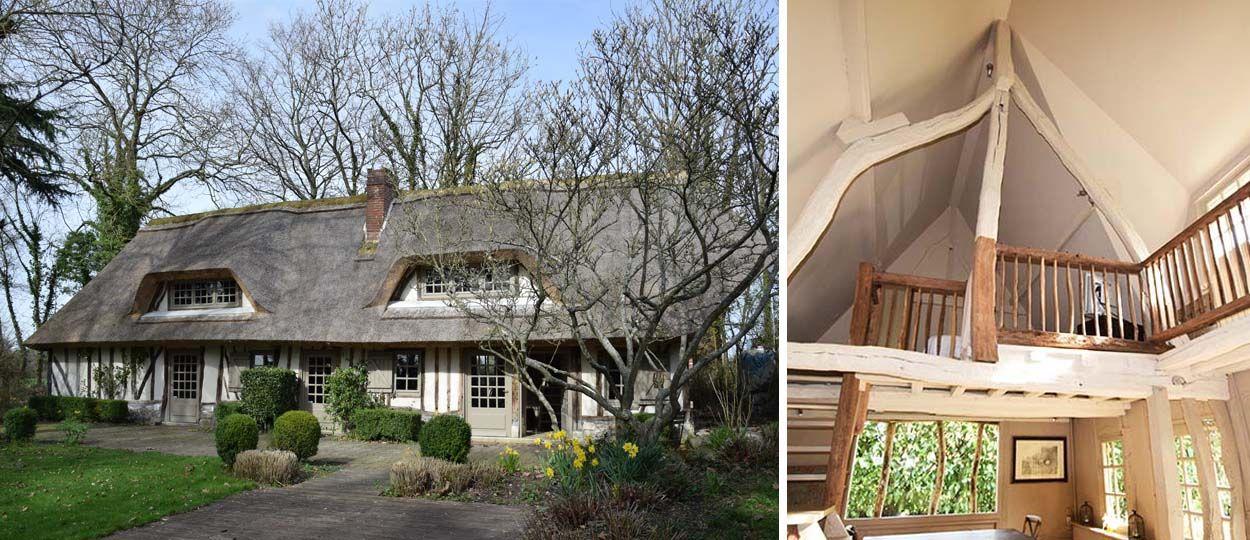 chaumi re moderne visitez cette maison typique de normandie. Black Bedroom Furniture Sets. Home Design Ideas
