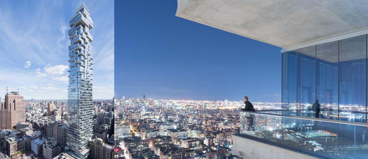 insolite new york un gratte ciel construit comme un jeu d 39 adresse. Black Bedroom Furniture Sets. Home Design Ideas