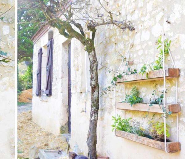 Tuto : Fabriquez une jardinière suspendue en palette