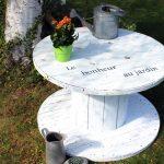 Tutoriel : Fabriquez un fauteuil original avec un touret en ...