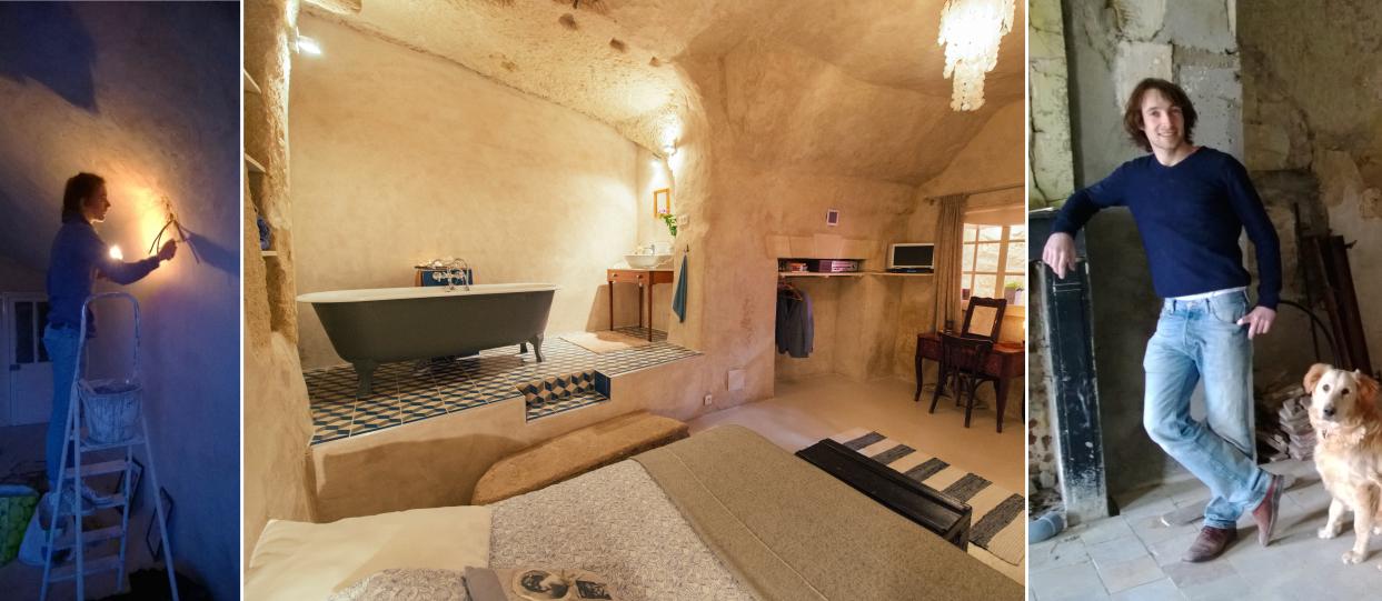 Génération Y : Ce jeune couple a retapé une maison troglodyte pour y vivre