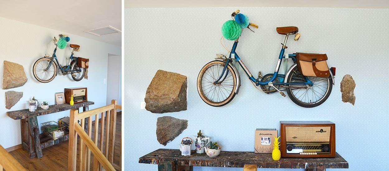 Tuto : Fabriquez un accroche-vélo joli parfait pour une déco vintage