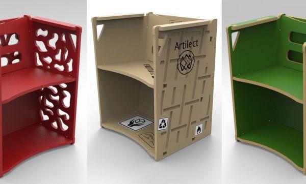 Tuto Maker : Fabriquez Sèti, un fauteuil multifonction en bois