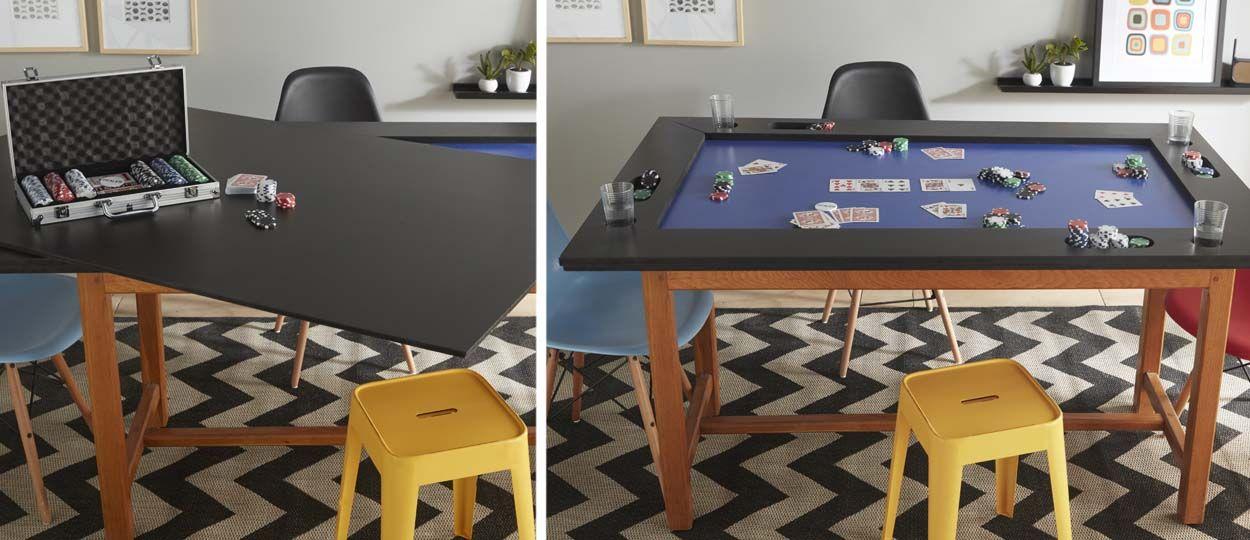 Tuto : Fabriquez une table de poker pour animer vos soirées entre amis