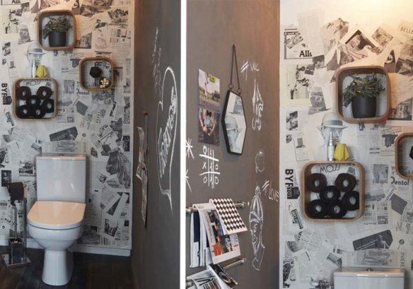 Tutoriel : Relookez Vos WC En Mode Rétro Avec Des Journaux