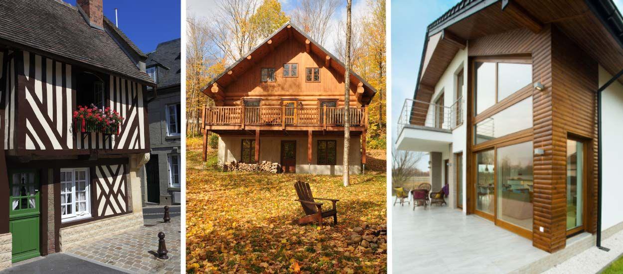 quelle technique de construction bois choisir ossature bois madriers rondins. Black Bedroom Furniture Sets. Home Design Ideas