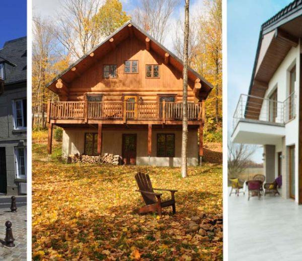 maison canadienne en bois best maisons bois hautesane with maison canadienne en bois simple. Black Bedroom Furniture Sets. Home Design Ideas
