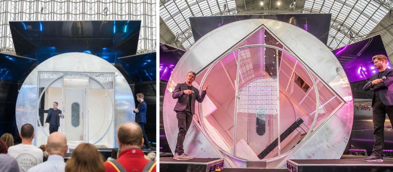 Renversant : la maison du futur tourne sur elle-même, comme une machine à laver