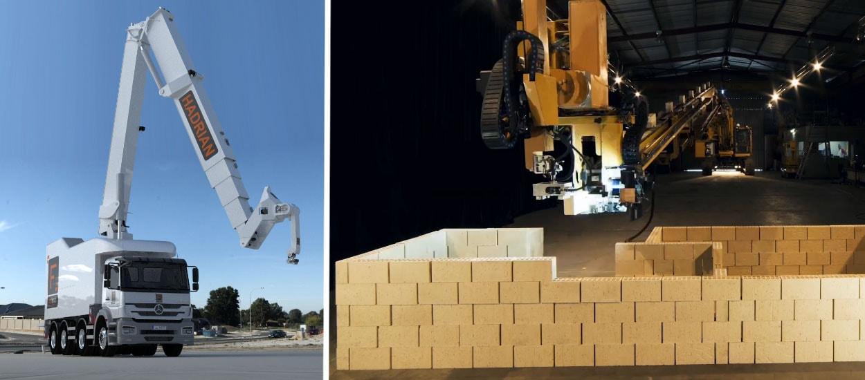 hadrian x le robot de fastbrick robotics construit des maisons tout seul. Black Bedroom Furniture Sets. Home Design Ideas