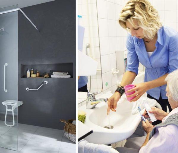 Handicap ou grand âge : Comment adapter sa salle de bains ?