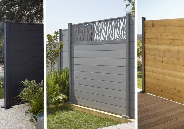 brise vue composite castorama latest brise vue balcon. Black Bedroom Furniture Sets. Home Design Ideas
