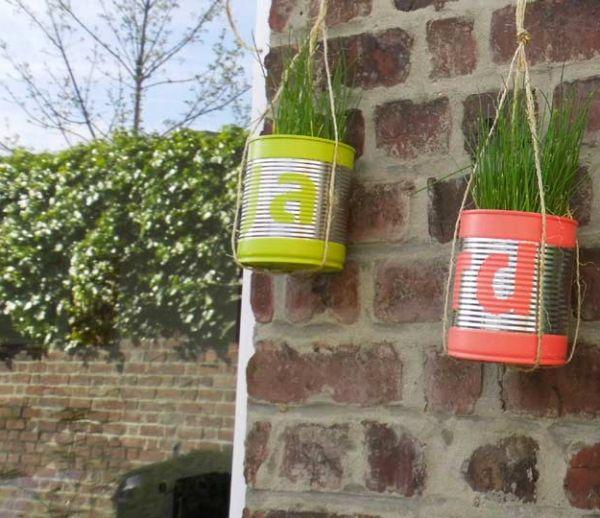 Tuto : Fabriquez des suspensions florales récup' pour une poignée d'euros