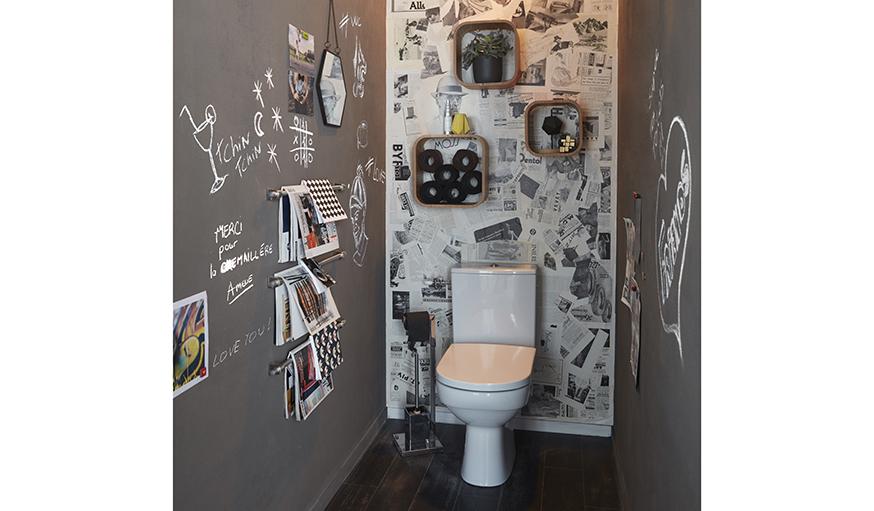 Décorer Ses Toilettes - Diy Pour Refaire Les Murs De Ses Toilettes