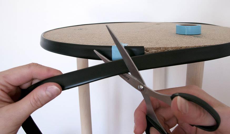 Fabriquez une table d 39 appoint art d co avec des miroirs - Miroir souple a coller ...