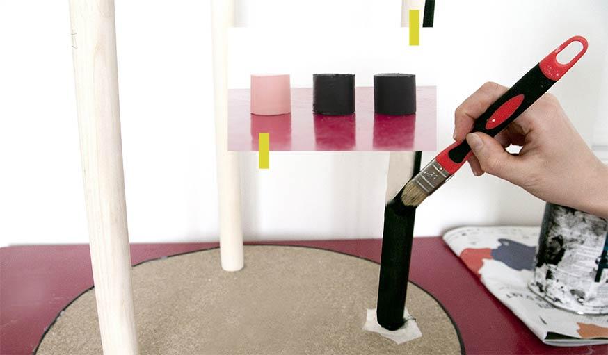 Fabriquez une table d 39 appoint art d co avec des miroirs for Retourner une photo miroir