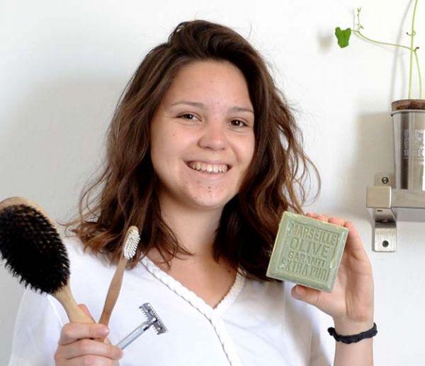 À 21 ans, elle ne produit que 500 grammes de déchets par an