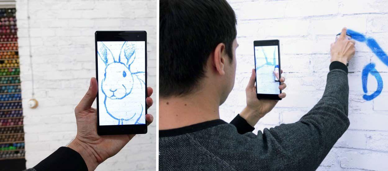 Dessinez sur vos murs comme un artiste grâce à cette appli de réalité augmentée !