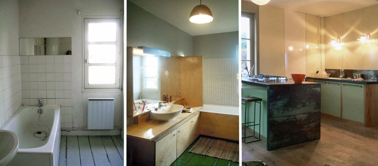 Cuisine & salle de bains : nouveau look contemporain pour cette maison de campagne