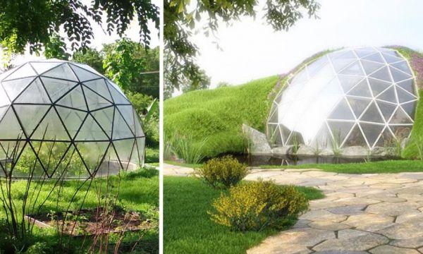 Découvrez les dômes géodésiques, ces constructions tout en rondeur et symétrie