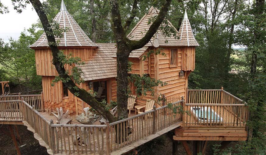 La cabane Milandes.