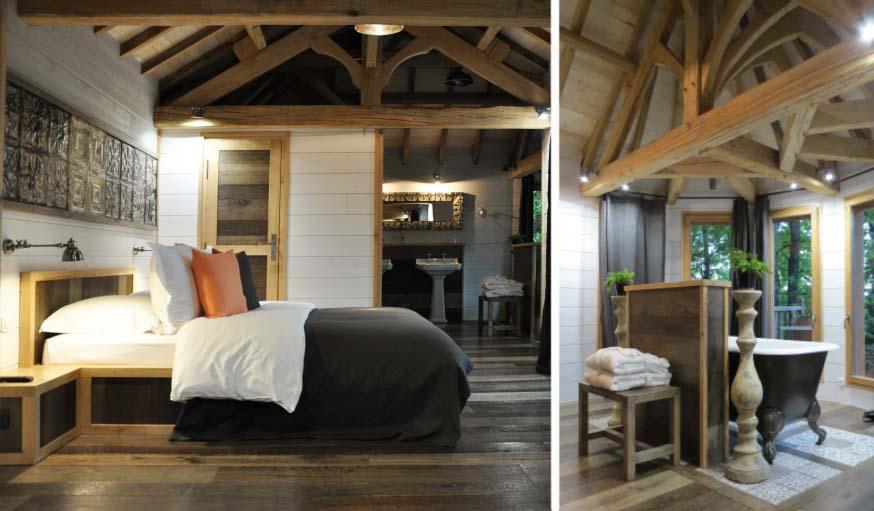 La cabane Spa Puybéton.