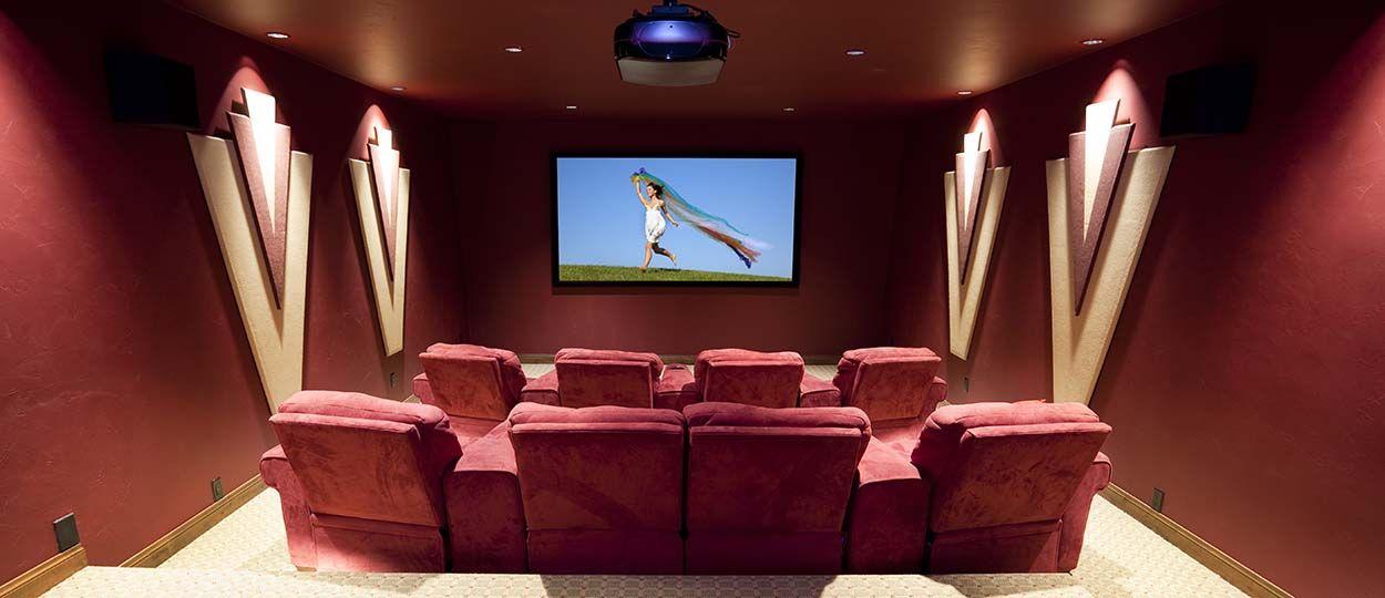 Exceptionnel Installer une salle de cinéma à la maison - Construire soi-même sa  PE92