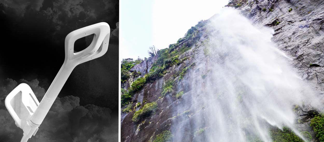 Ce pommeau économise 75% d'eau et transforme votre douche en cascade