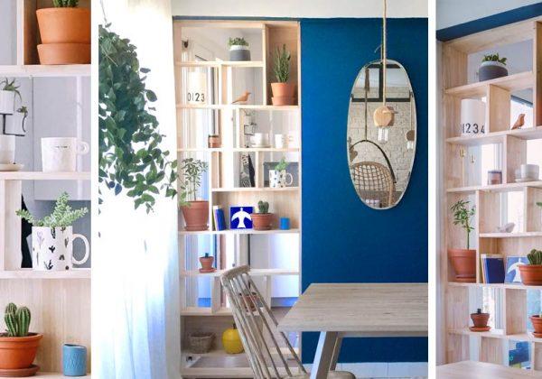 Fabriquez une bibliothèque sur-mesure qui sert aussi de meuble de ...