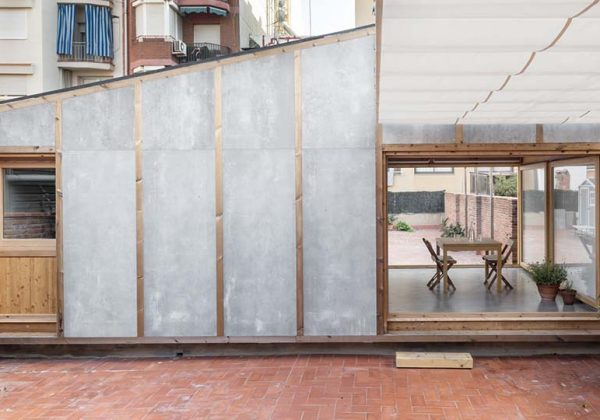 Une Extension De Maison Sur Un Toit Terrasse Gagner Des