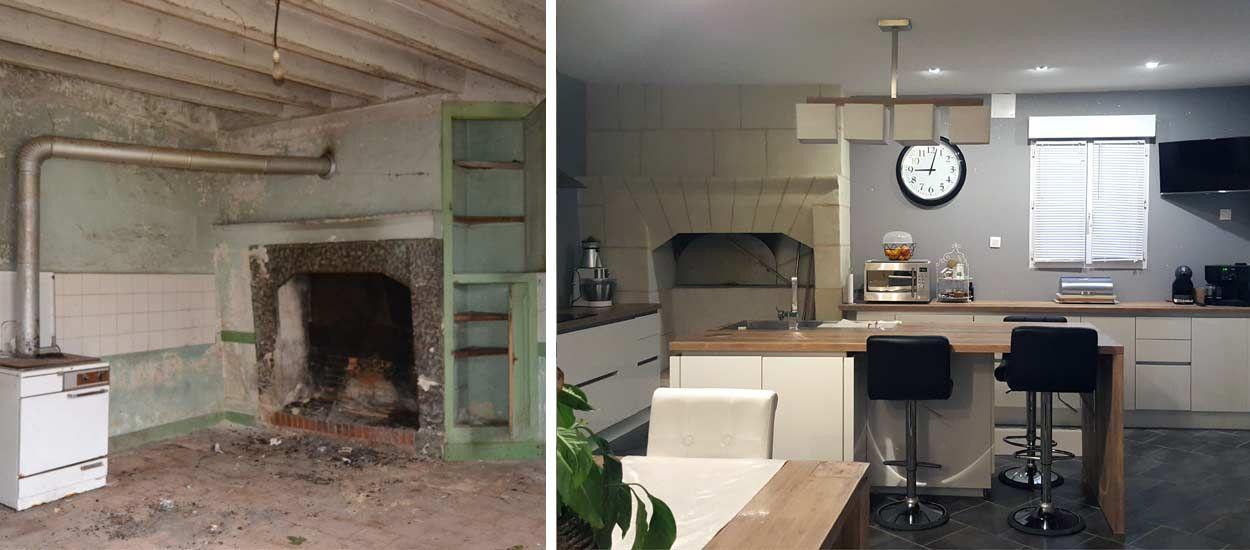 avant aprs ils ont rnov seuls une maison de 220 m2 - Photo Maison Renovee Avant Apres