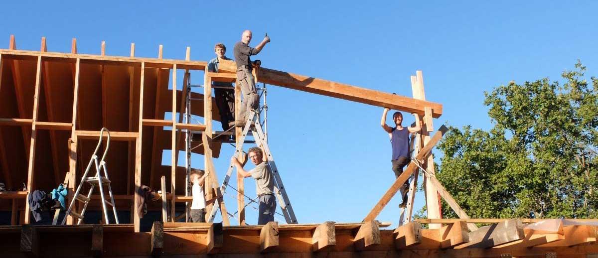 """Les chantiers participatifs : """"c'est un échange humain très riche"""""""