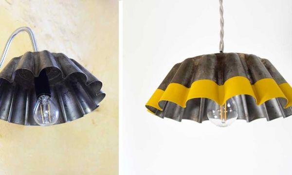 Tuto : Fabriquez une lampe rétro et récup' avec un moule à brioche
