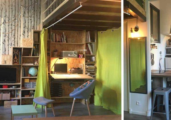 Transformer un petit studio en un petit loft pour une ...