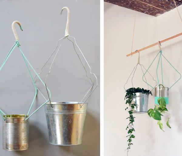 Tuto : Fabriquez de jolis accroche-pots récup' pour quelques euros