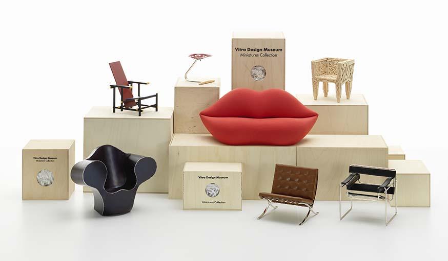 des meubles design fabriqu s en miniature s 39 offrir les classiques du design. Black Bedroom Furniture Sets. Home Design Ideas