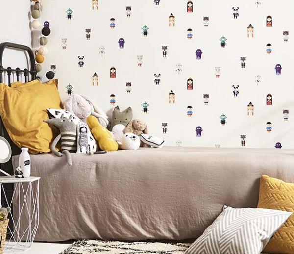 Et si le papier peint de vos enfants racontait des histoires ?