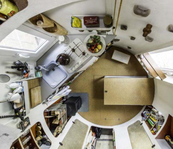 Cet architecte a transformé un silo à grains en une incroyable maison écolo