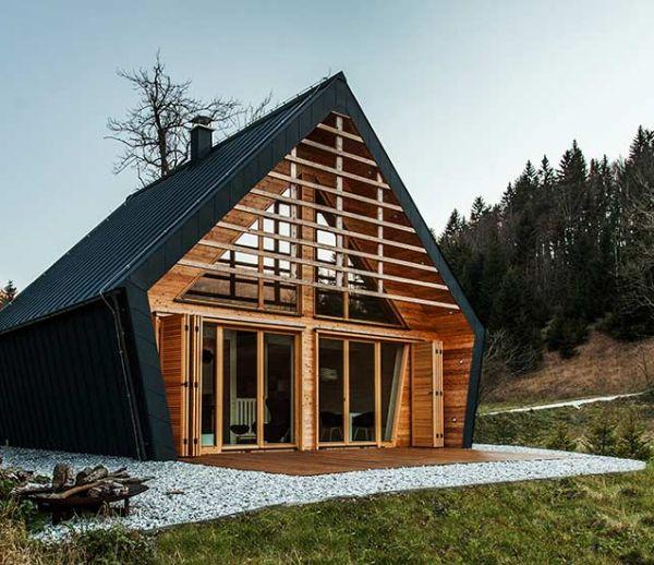 Une magnifique maison en bois pour les amoureux de la nature