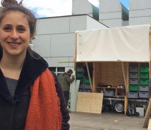 Ce collectif a conçu un atelier nomade pour bricoler à travers l'Europe