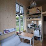 Van Bo Le-Mentzel présente un micro-studio, parfaitement optimisé.